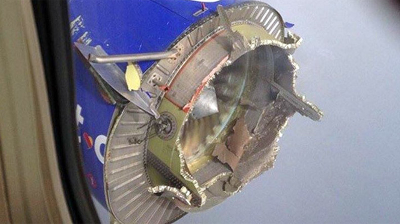 Southwest Boeing 737 engine falls to pieces after inflight explosion (PHOTOS)