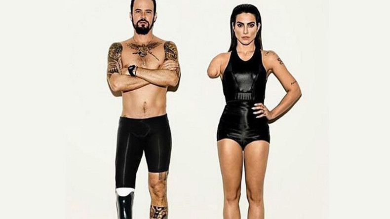 Controversy as Vogue Brazil photoshops disabilities onto models for Paralympic shoot (PHOTO)