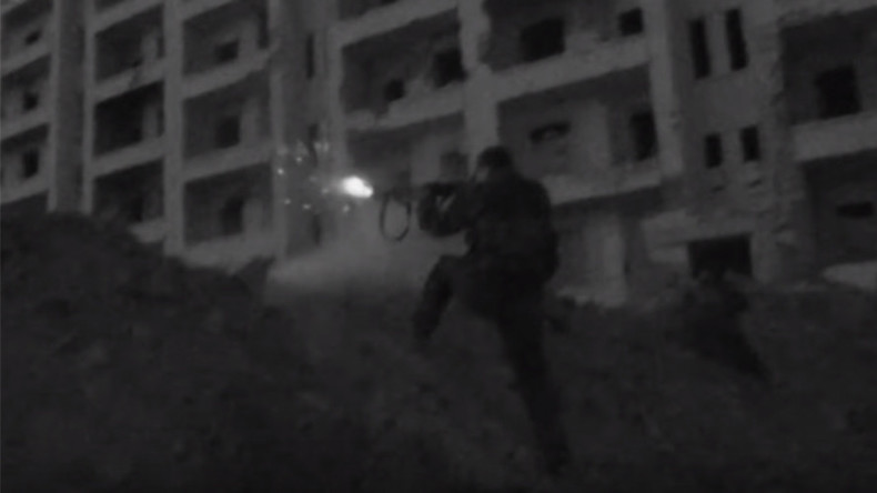 Kurdish militia filmed in front line Aleppo battle with Al-Nusra (EXCLUSIVE VIDEO)