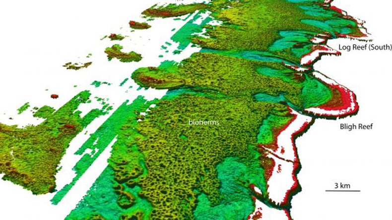 Deeper 6,000 sq km reef discovered hidden behind Great Barrier Reef