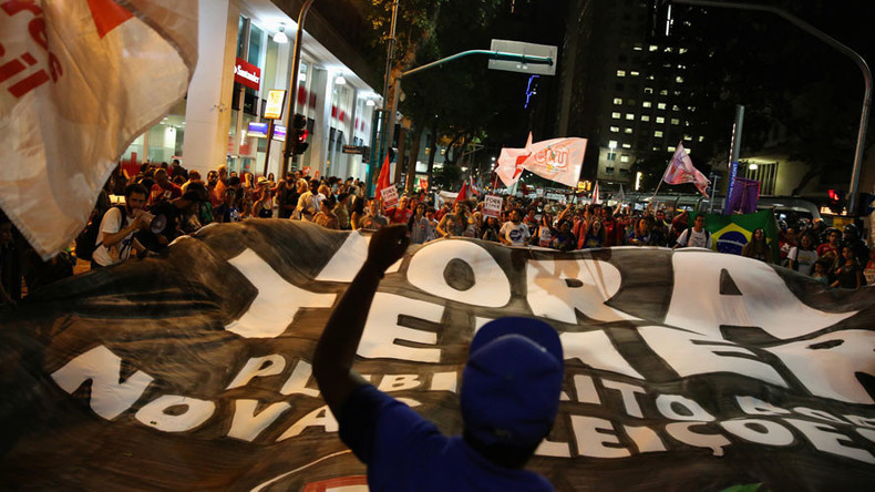 'Brazil's leftist forces view efforts to impeach Dilma Rousseff a coup d'état'