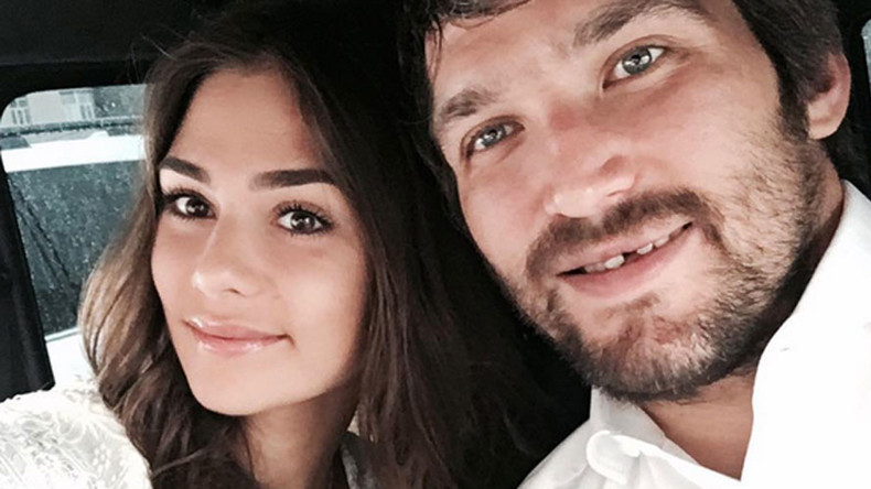 Hockey star Alex Ovechkin marries model Nastya Shubskaya