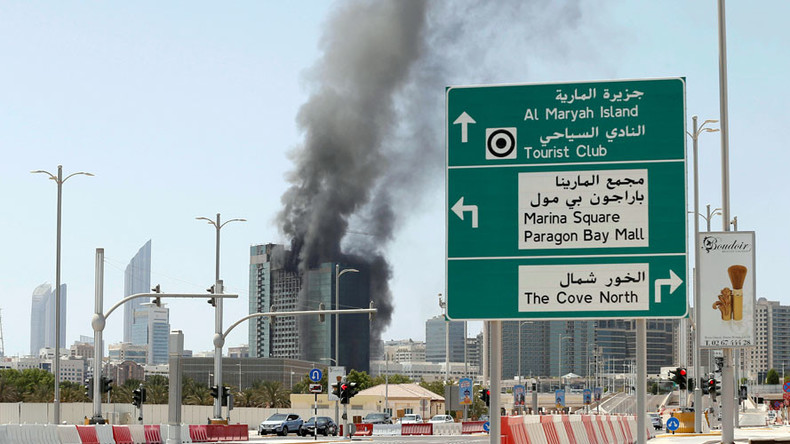 Major blaze breaks out at 28-storey Abu Dhabi highrise (PHOTOS, VIDEOS)