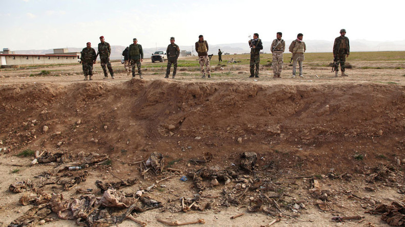 72 ISIS mass graves containing up to 15,000 discovered in Iraq & Syria