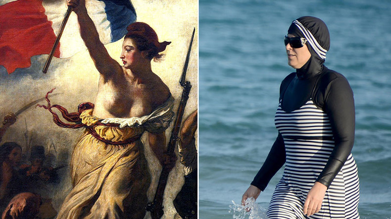 'Naked breasts, not burkinis!' French PM wades into stormy waters with national identity speech
