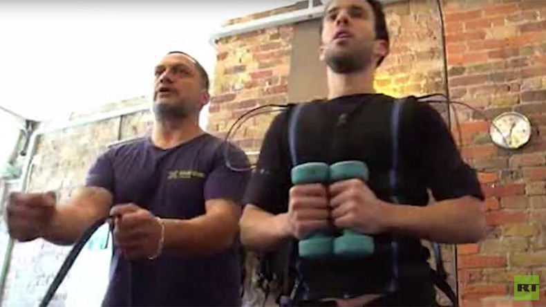 Want more from your workout? Try electrocution! London's shocking new fitness fad (VIDEO)