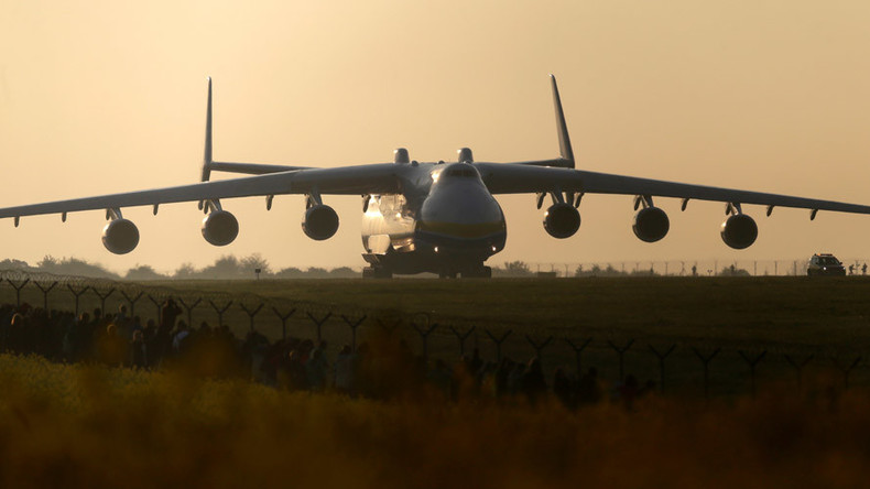 Ukraine to launch serial production of world's biggest aircraft together with China