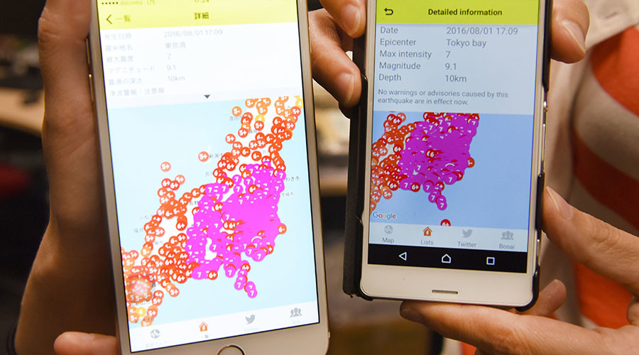 Japan comes to standstill after official agency issues false 9.1 earthquake warning