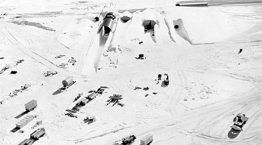 Danger: Radioactive Cold War stash & Greenland's melting ice-sheet