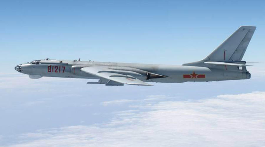 Beijing sends bombers, fighter jets on combat patrols over contested S. China Sea