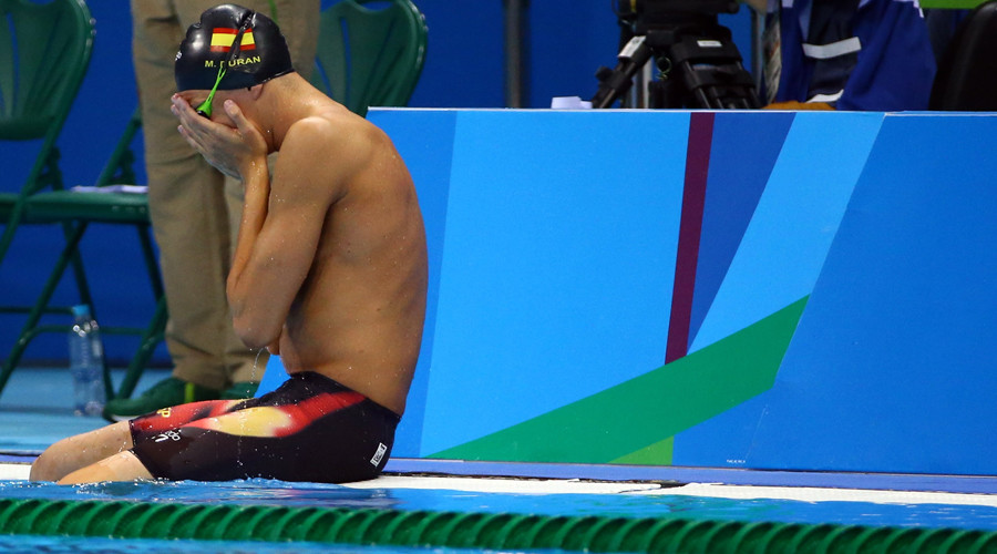 Spanish swimmer gets 2nd chance after false start disqualification