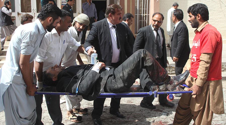 Pakistan hospital blast kills up to 93, at least 120 injured