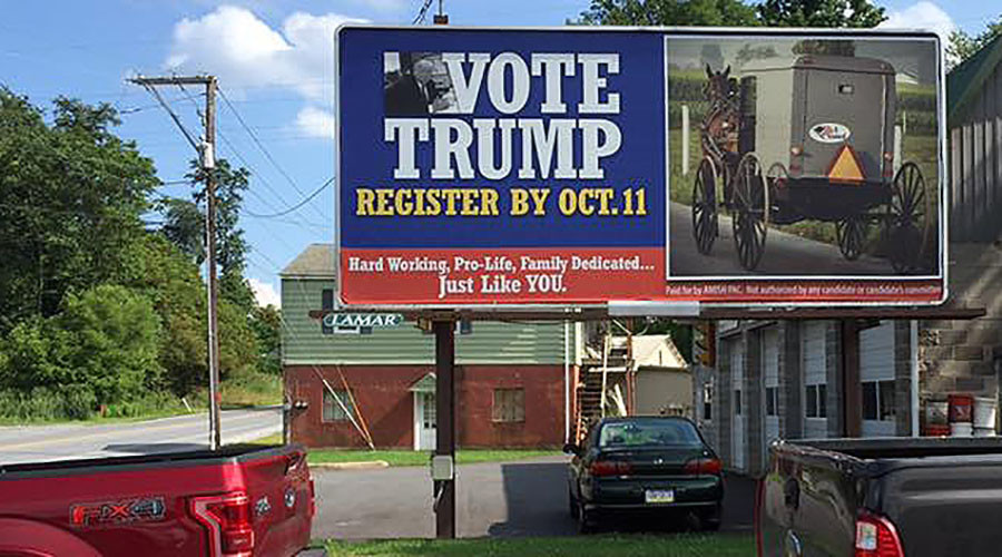 Amish for Trump: How a brash billionaire appeals to modest country voters