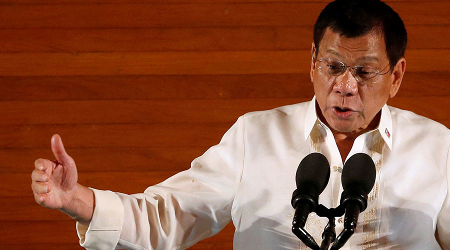 Philippines leader calls US ambassador S.O.B. & gay, Washington demands clarification