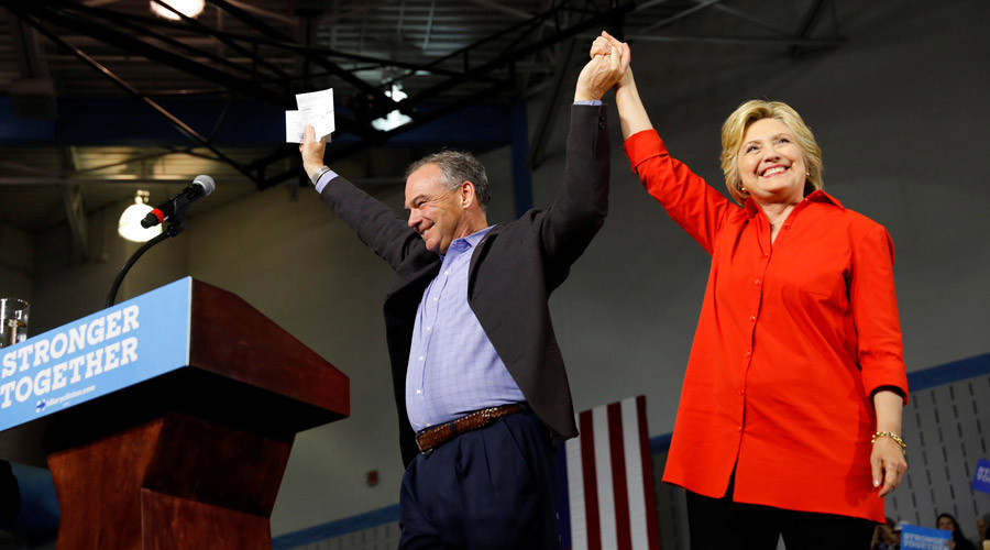 Clinton, Kaine release tax returns to put pressure on Trump