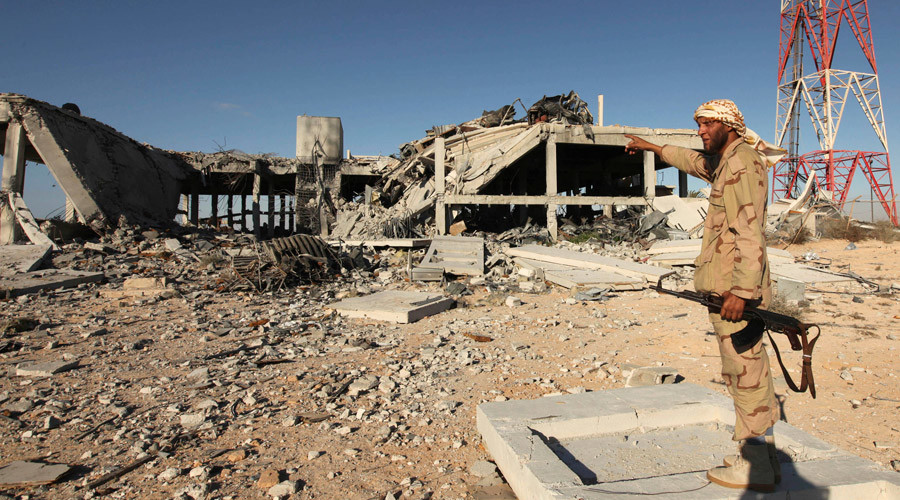 US ground troops are in Libya, Pentagon admits