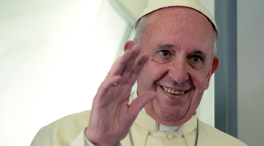 Pope Francis visits 20 former prostitutes in Rome on 'Friday of Mercy'