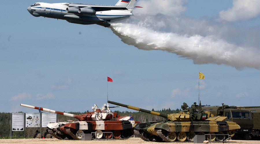 Aim, race, win! Russia's Tank Biathlon 2016 in most spectacular PHOTOS & VIDEOS