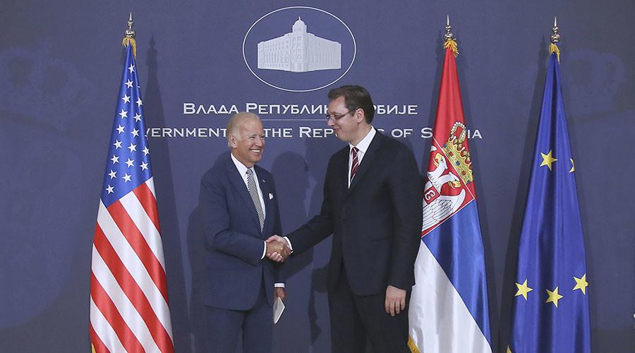 Serbian PM calls top advocate of Yugoslavia NATO bombing Biden a 'friend of country'