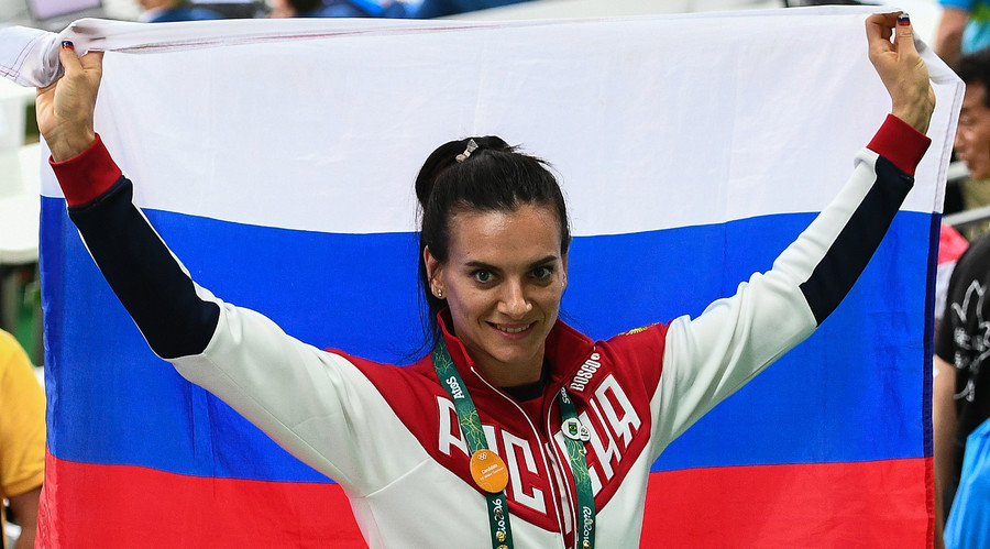 'Response to injustice': Barred from Rio Games, Isinbayeva wins seat on IOC athletes' commission