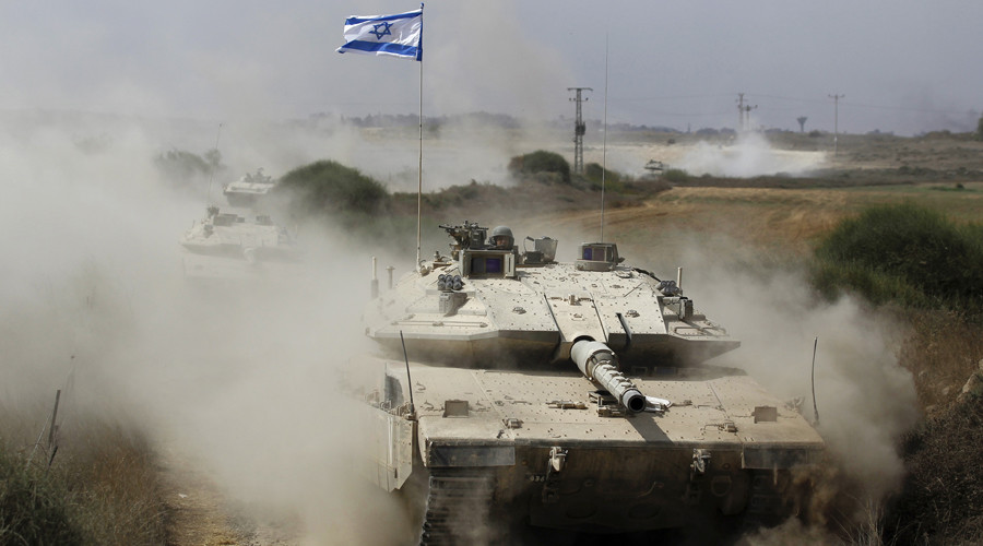 Israeli Air Force, tanks strike Hamas targets in Gaza after rocket hits Sderot