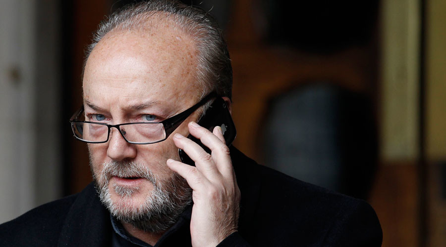 The exile returns? Anti-imperialist firebrand George Galloway could be heading back to Labour