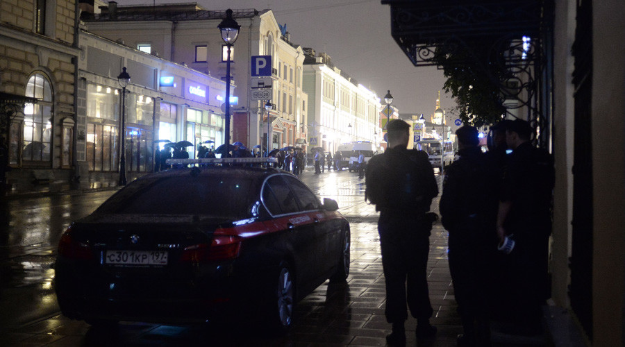 Bankrupt man with 'explosive device' surrendered after taking hostages at Moscow bank