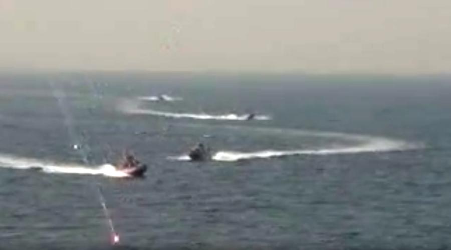US warship 'harassed' by Iranian speedboats near Strait of Hormuz