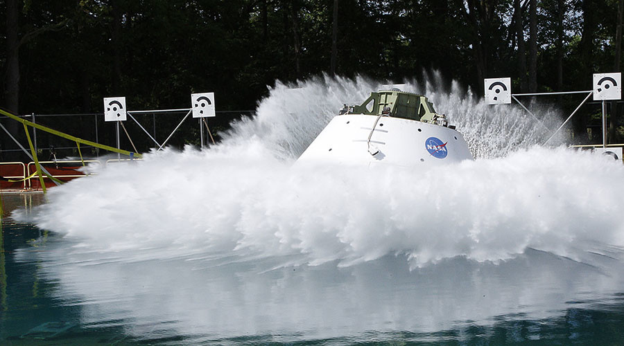 One step closer to Mars: NASA completes splashdown test for red planet-bound Orion (VIDEO)