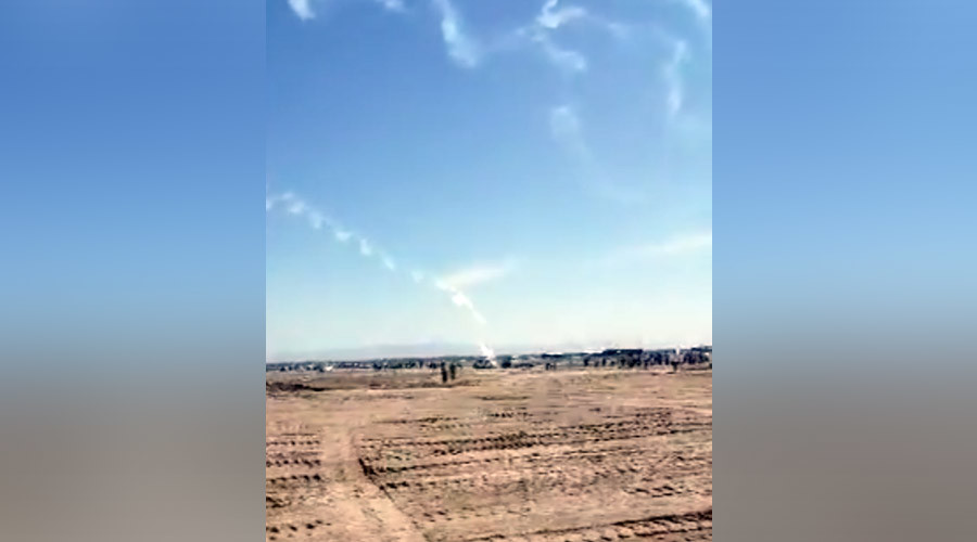 Pilot killed as plane crashes at airshow in northwestern China (VIDEO)