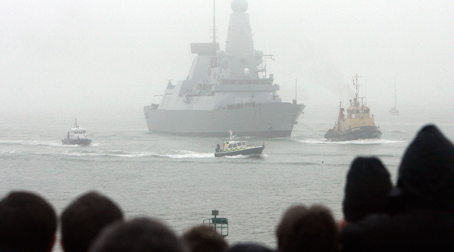 UK sends destroyer to fight ISIS in Persian Gulf, despite its previous warm water failures
