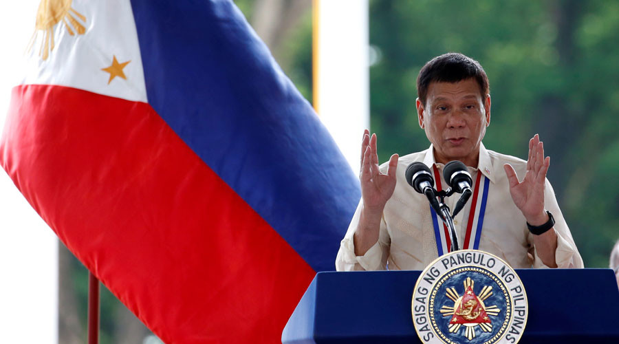 Philippines president puts $43k bounty on 'ninja' cops protecting drug lords