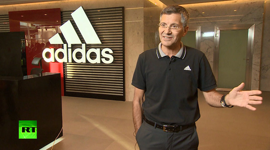 'I am happy that the 2018 World Cup is here in Russia' – Adidas CEO