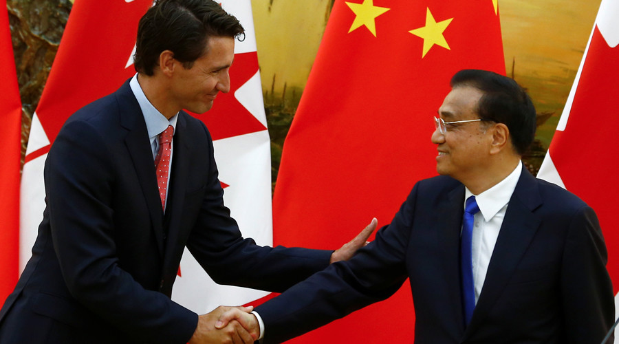China and Canada consider free trade zone