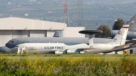 Sigonella Airbase in the southern Italian island of Sicily © Antonio Parrinello