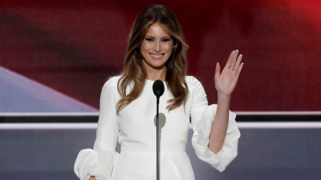 Melania Trump, wife of Republican U.S. presidential candidate Donald Trump © Mike Segar