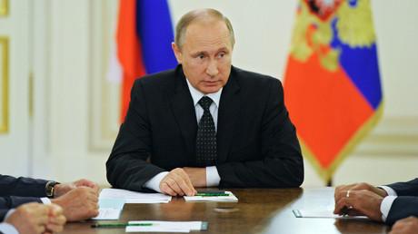 Russian President Vladimir Putin. © Michael Klimentyev