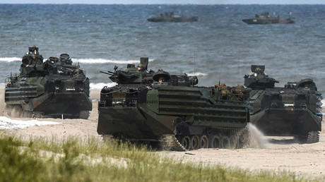 More than five thousand air, sea and ground troops take part in a multinational NATO maritime exercise BALTOPS in the Baltic Sea © Agencja Gazeta