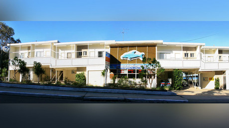 The Blue Dolphin Motel. © bluedolphinnambucca.com