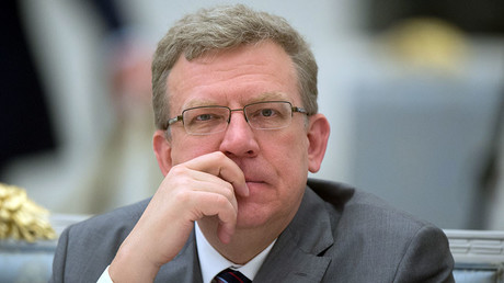 Aleksey Kudrin, board chairman at the Center For Strategic Research, deputy chairman of the Economic Council under the Russian President. © Sergey Guneev