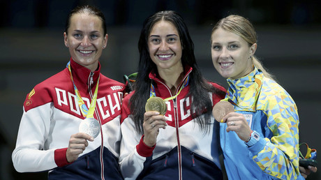 Russia takes gold & silver in women's individual saber at Rio Olympics