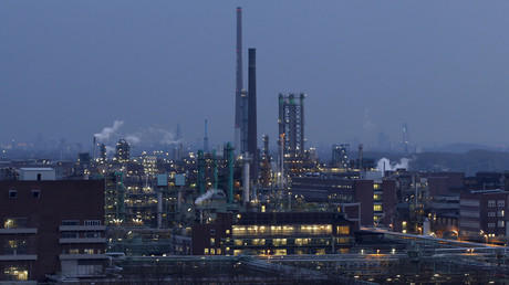 A plant belonging to Germany's largest drugmaker Bayer is seen in Leverkusen © Ina Fassbender