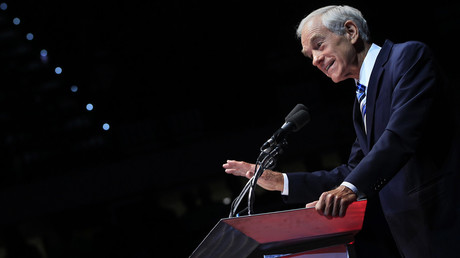 'Neither Clinton nor Trump pledging to cut government spending' – Ron Paul