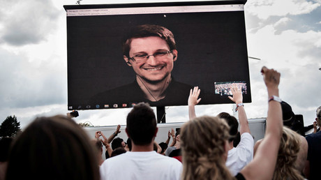 American whistleblower Edward Snowden © Mathias Loevgreen Bojesen