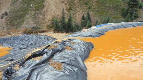 Navajo Nation sues EPA over toxic gold mine spill which turned river yellow