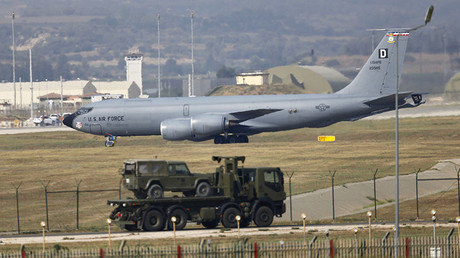 Incirlik air base in Adana, Turkey. ©Murad Sezer