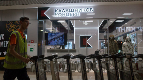 Gunmaker Kalashnikov opens souvenir shop at Moscow airport (VIDEO)