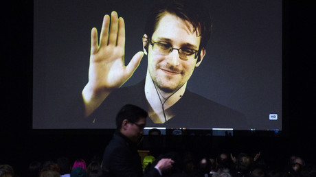 Former U.S. National Security Agency contractor Edward Snowden. © Mark Blinch