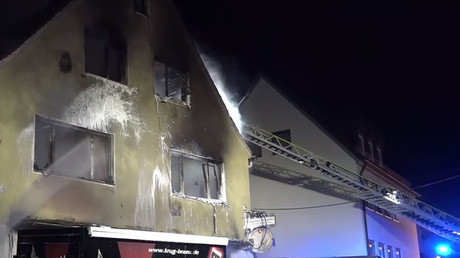 Fire in Bavarian refugee center causes €100,000 in damage (VIDEO)