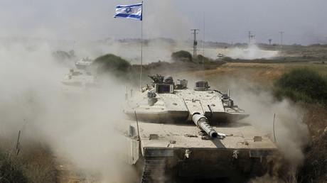 Israeli Air Force, tanks strike Hamas targets in Gaza after rocket hits Sderot